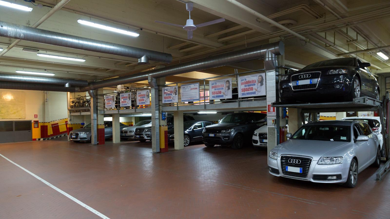 garage la stazione parcheggiare fuori dalla ztl