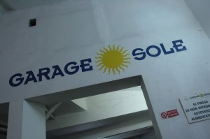 Garage Sole Logo - Florence Parking