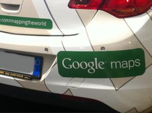 La vettura di Google Maps con Street View