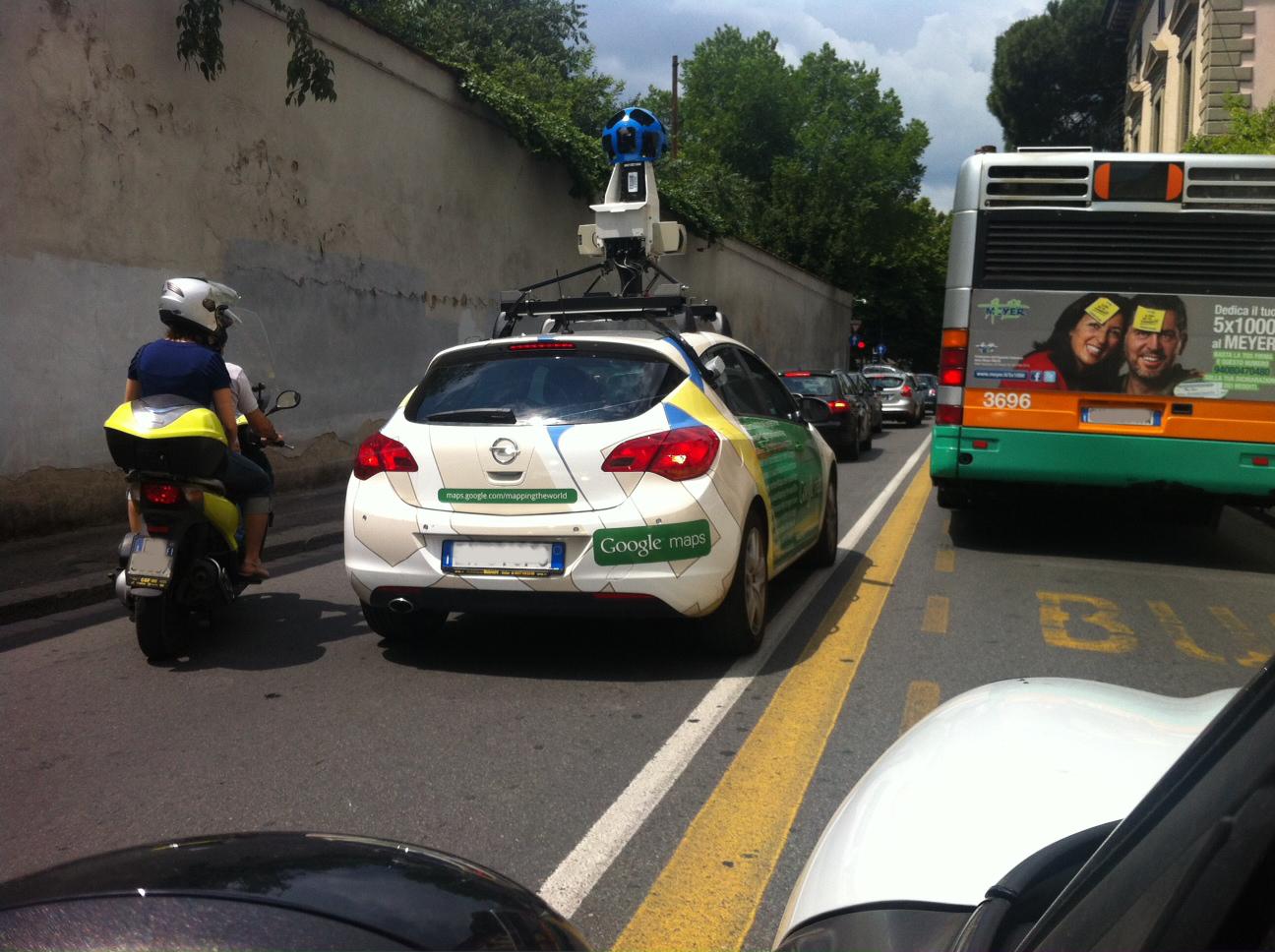 Auto Google Maps Google Maps – Mappiamo il