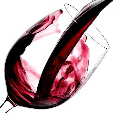 Bicchiere di vino Chianti