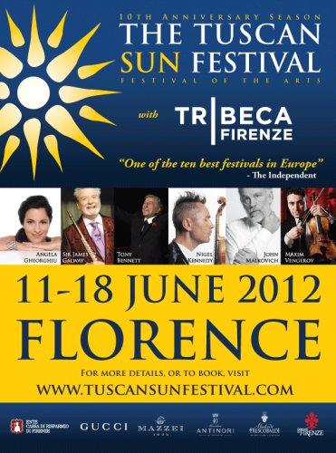 Locandina Tuscan sun Festival Florence Parking
