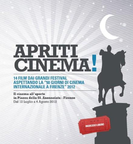 Apriti cinema Locandina - Florence Parking - Parcheggiare a Firenze