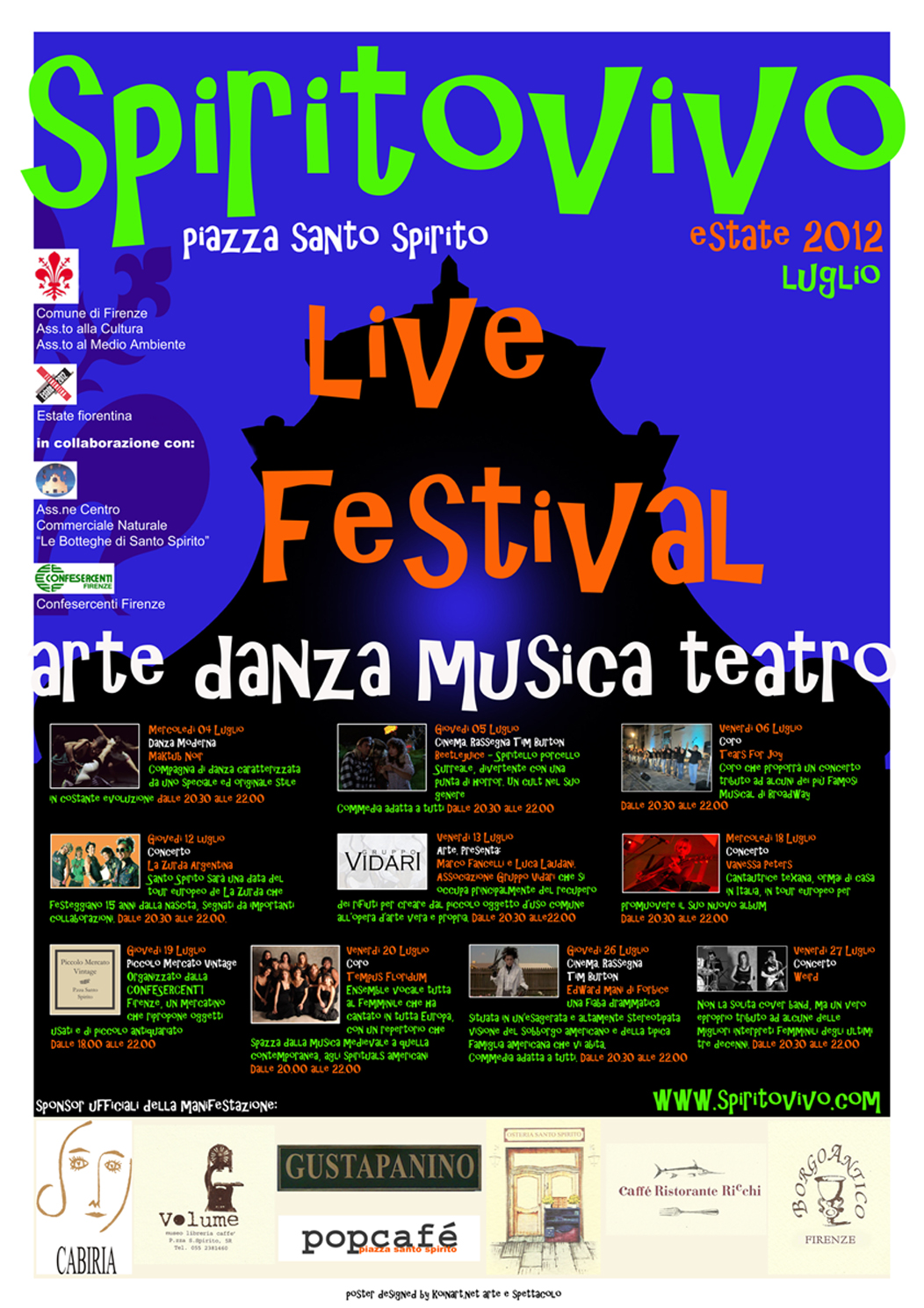 Spirito Live Festival - Florence Parking - Parcheggiare a Firenze