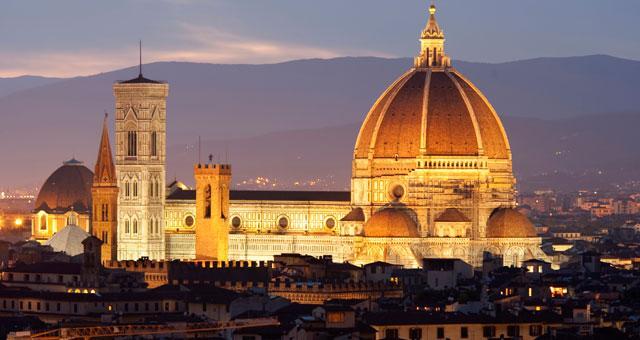 Aperture notturne del Battistero a Firenze - Florence Parking dove parcheggiare a Firenze