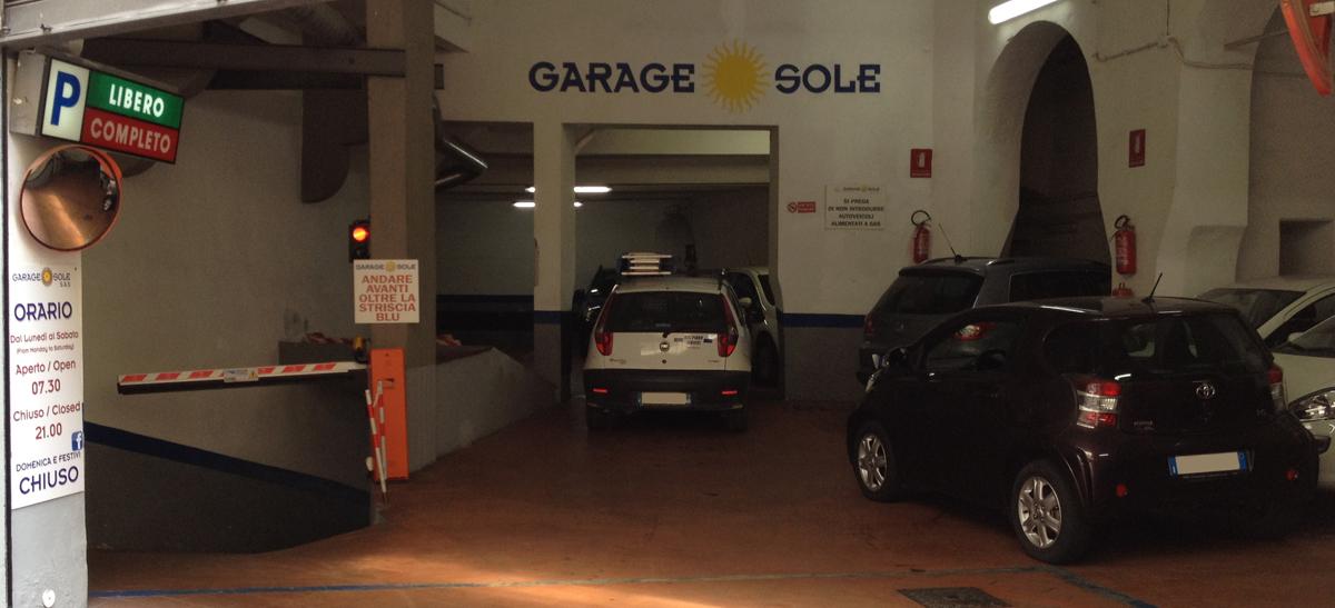 Ingresso Garage Sole