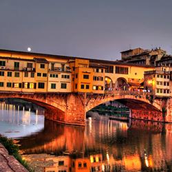 Parcheggiare vicino al Ponte Vecchio a Firenze