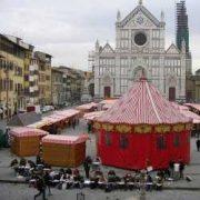 weihnachtsmarkt a Firenze 2017