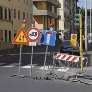 chiusura di molte strade