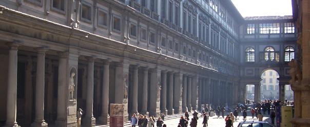 Galleria degli Uffizi - Parcheggiare a Firenze con Florence Parking