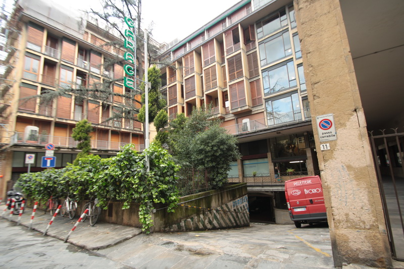 Ingresso delGarage Verdi - Florence Parking