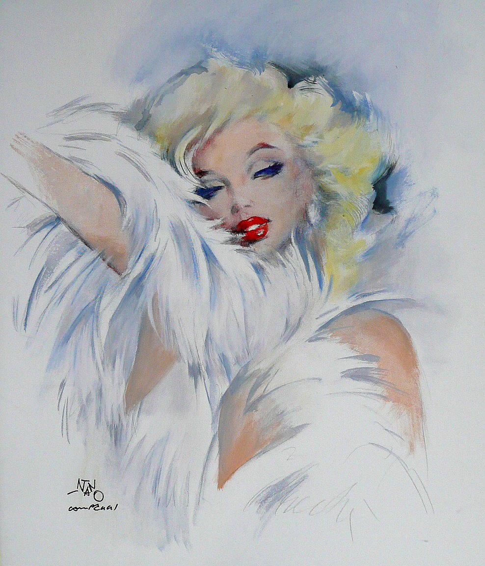 Silvano Nano Campeggi - Marilyn Monroe - Florence Parking - Parcheggiare a Firenze