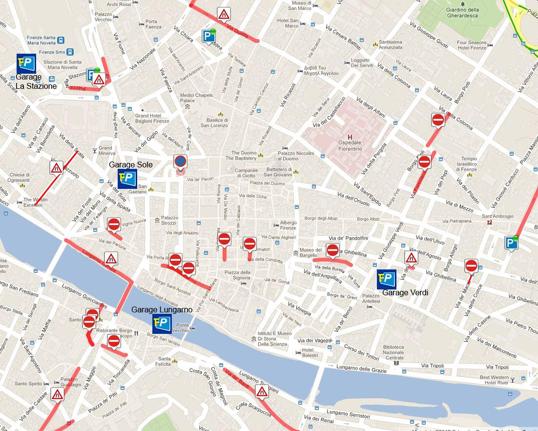 Viabilità centro storico Firenze