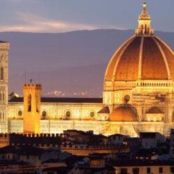 Aperture notturne del Battistero a Firenze