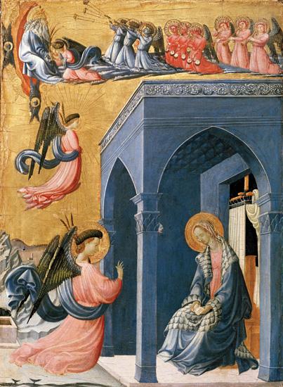 Paolo Uccello - Annunciazione - Galleria degli Uffizi - Firenze