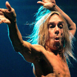 Iggy Pop a Firenze