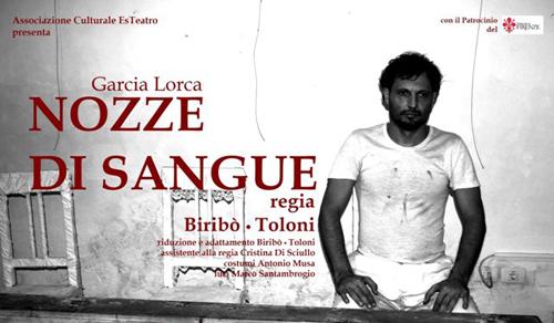 Nozze di sangue di Garcìa Lorca