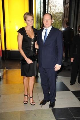 Charlene e Alberto di Monaco al Ballo di Firenze
