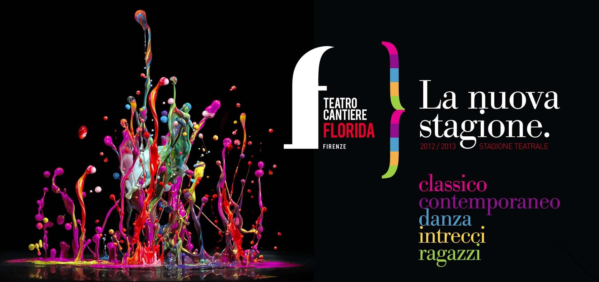 Teatro Cantiere Florida a Firenze stagione 2012-2013