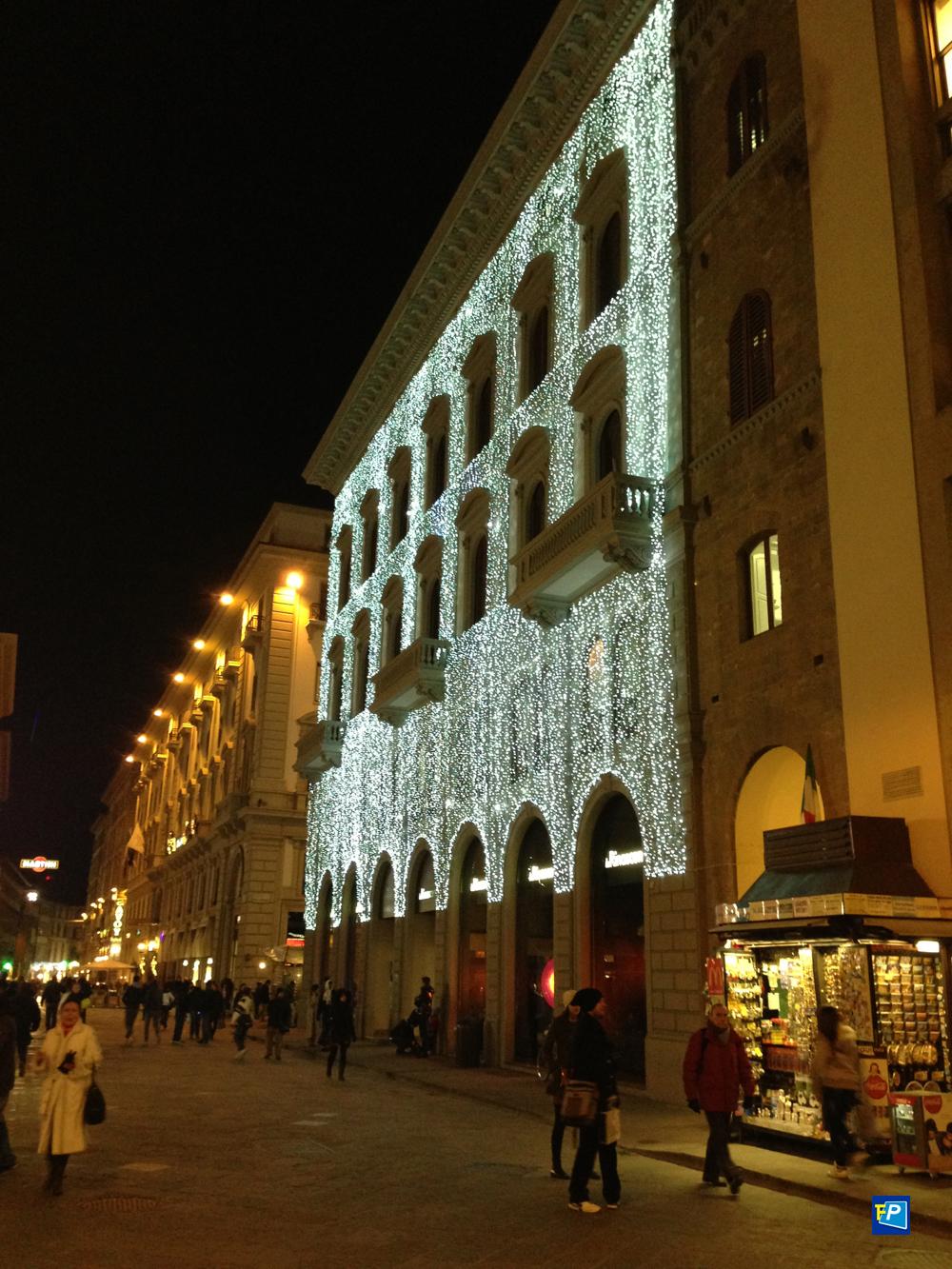 Addobbi Natalizi a Firenze