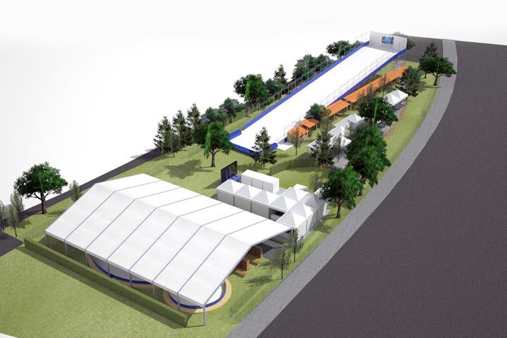 Visione generale dell'impianto di Firenze Winter Park