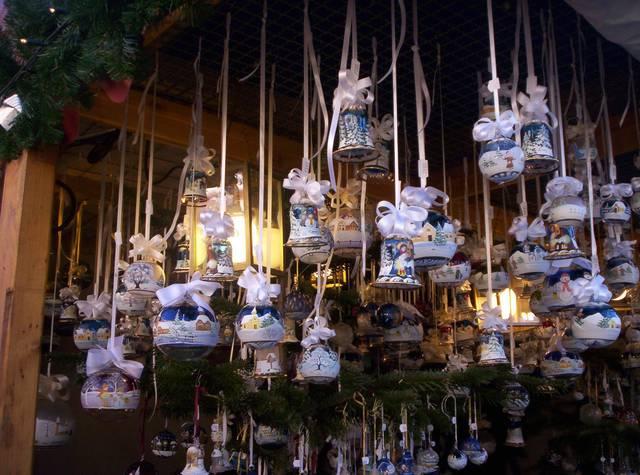 shopping natalizio nel centro di Firenze