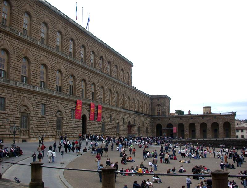 Parcheggiare vicino a Palazzo Pitti