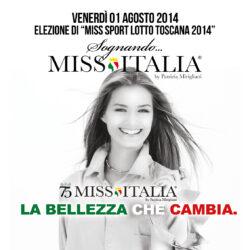 Miss Italia alla Piscina Le Pavoniere di Firenze
