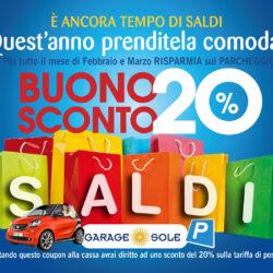 Garage Sole, promozione Febbraio e Marzo 2015