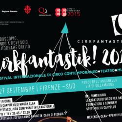 Cirk Fantastik 2015 al parco delle Cascine