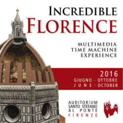 "Arriva la mostra in 3D ""Incredible Florence"""