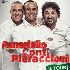 """Panariello Pieraccioni e Conti al Mandela Forum con """"il Tour"""""""