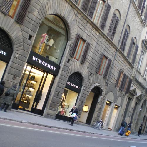 Shopping nel centro di Firenze