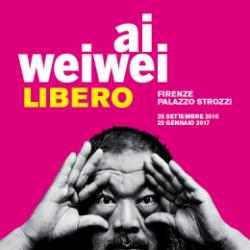 Libero di Ai Weiwei in esposizione a Palazzo strozzi