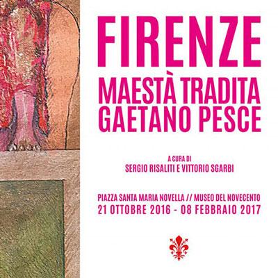 Maestà tradita di Gaetano Pesce al Museo del Novecento