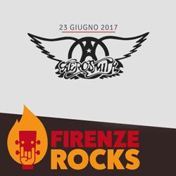 Gli Aerosmith in concerto alla Visarno Arena per il Firenze Rocks