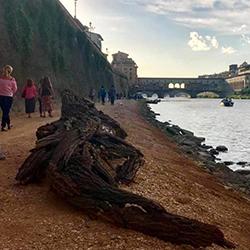 Aperta la Riva Torrigiani, la passeggiata permanente sull'arno