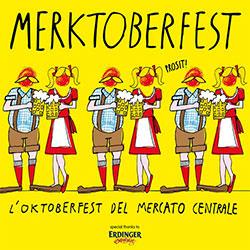 Merktoberfest, la festa della birra al Mercato centrale a Firenze