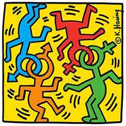 Parcheggi per Made in New York di Keith Haring a Palazzo Medidi Riccardi a Firenze