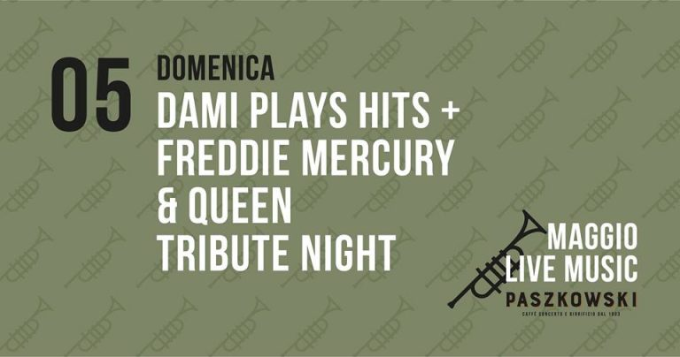 Read more about the article Queen tribut night da PASZKOWSKI: INGRESSO GRATIS