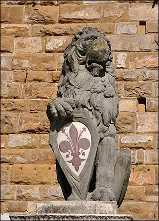 Il Giglio di Firenze: in passato aveva i colori invertiti